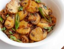 Indian Style Fried Mushrooms